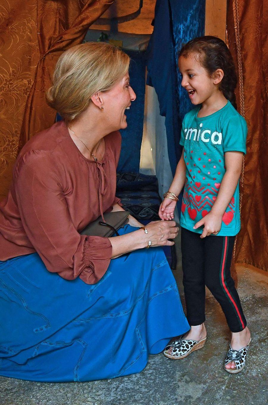 La comtesse Sophie de Wessex au Liban, le 12 juin 2019