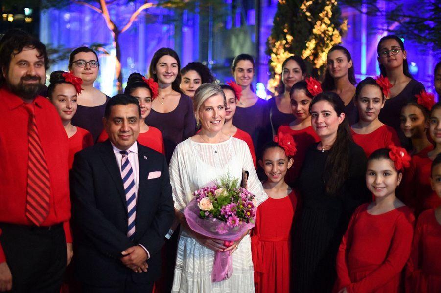 La comtesse Sophie de Wessex au Liban, le 13 juin 2019