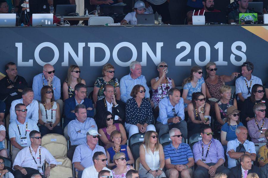 La comtesse Sophie de Wessex et sa fille Lady Louise Windsor à Londres, le 5 août 2018