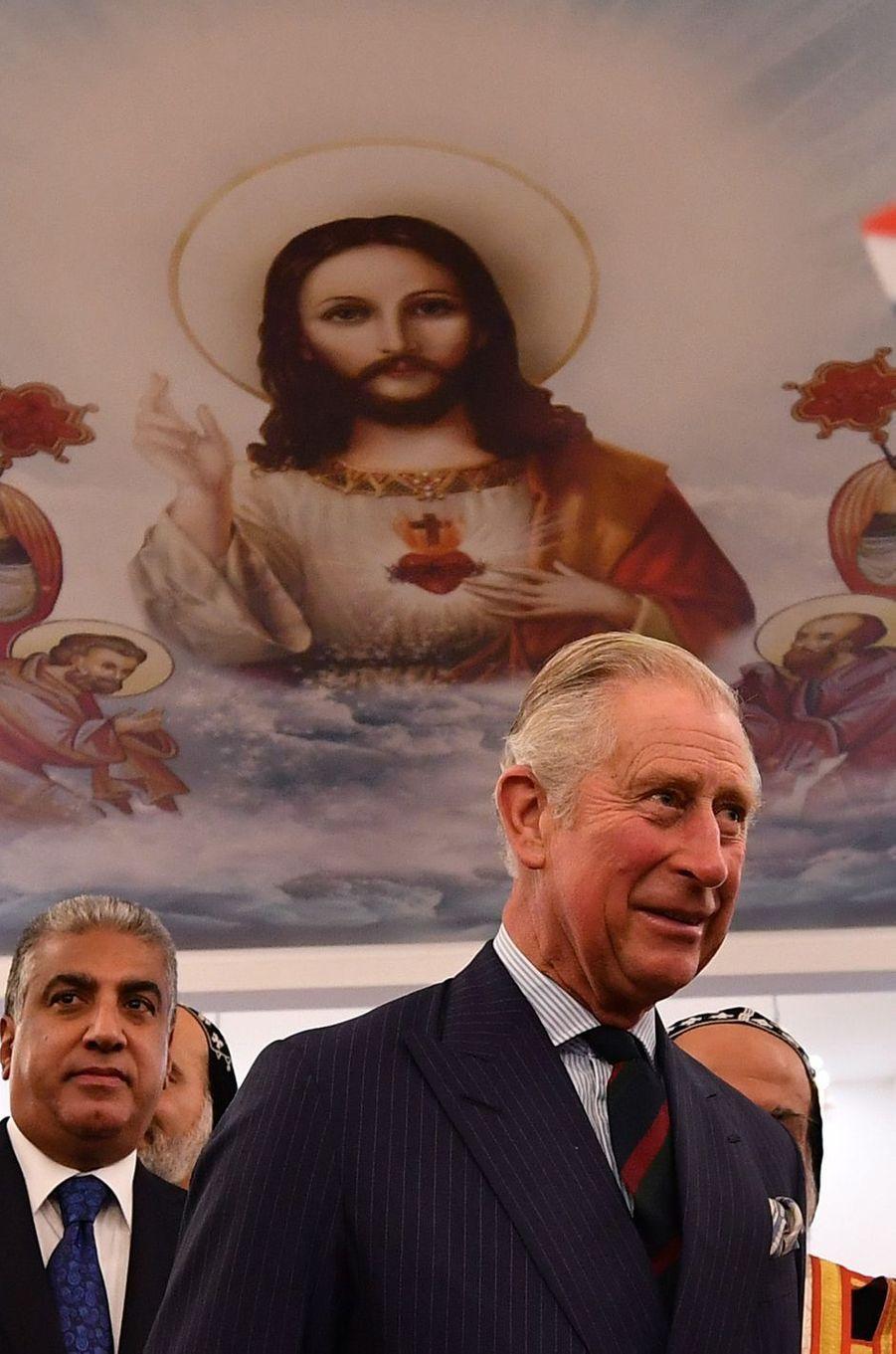 Le prince Charles à Londres, le 24 novembre 2016
