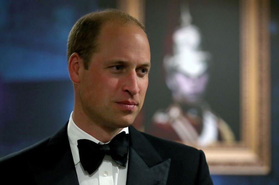 Le prince William au Royal Edinburgh Military Tattoo à Edimbourg, le 16 août 2017