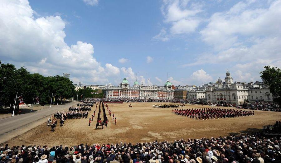 La parade des Horse Guard