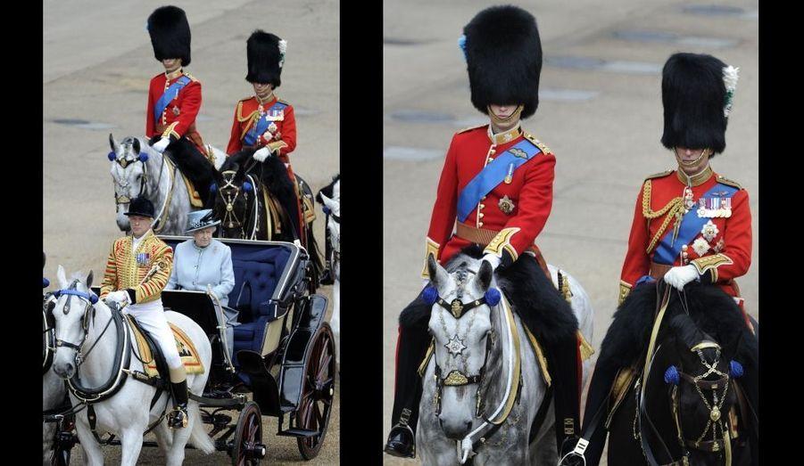 William et Charles, les cavaliers de la Reine