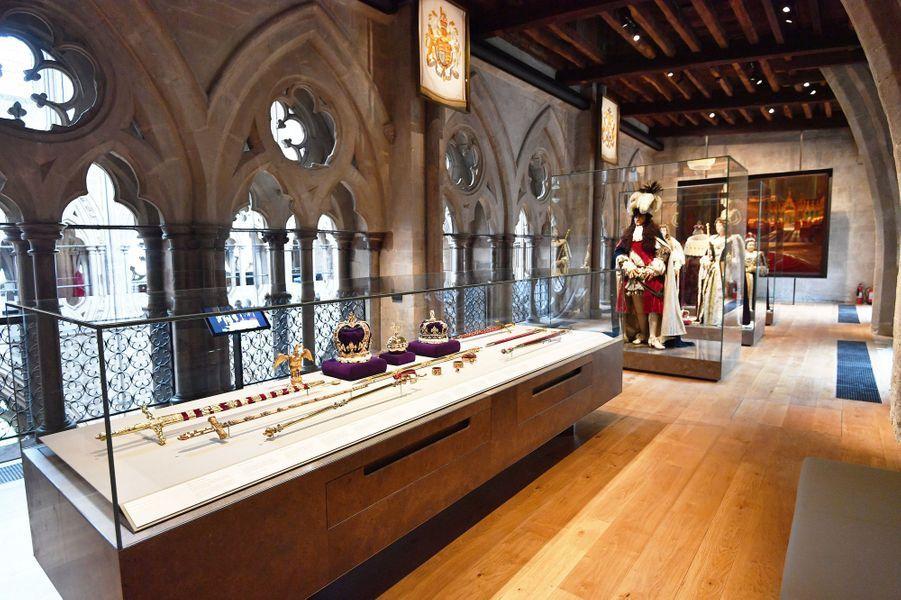 Musée installé dans les Queen's Diamond Jubilee Galleries à Westminster Abbey, le 29 mai 2018
