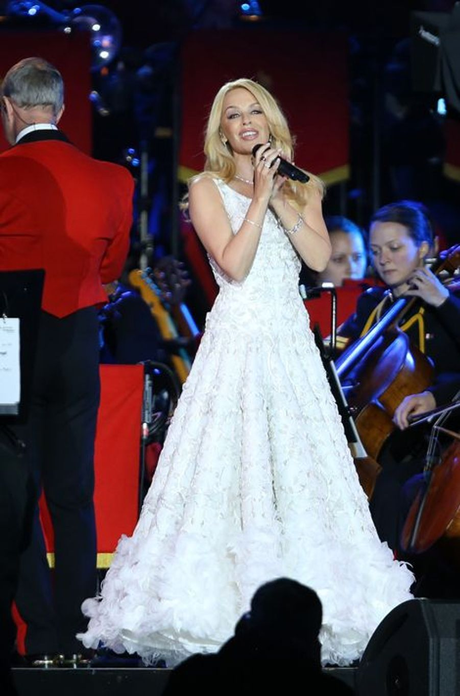 Kylie Minogue à Windsor, le 15 mai 2016