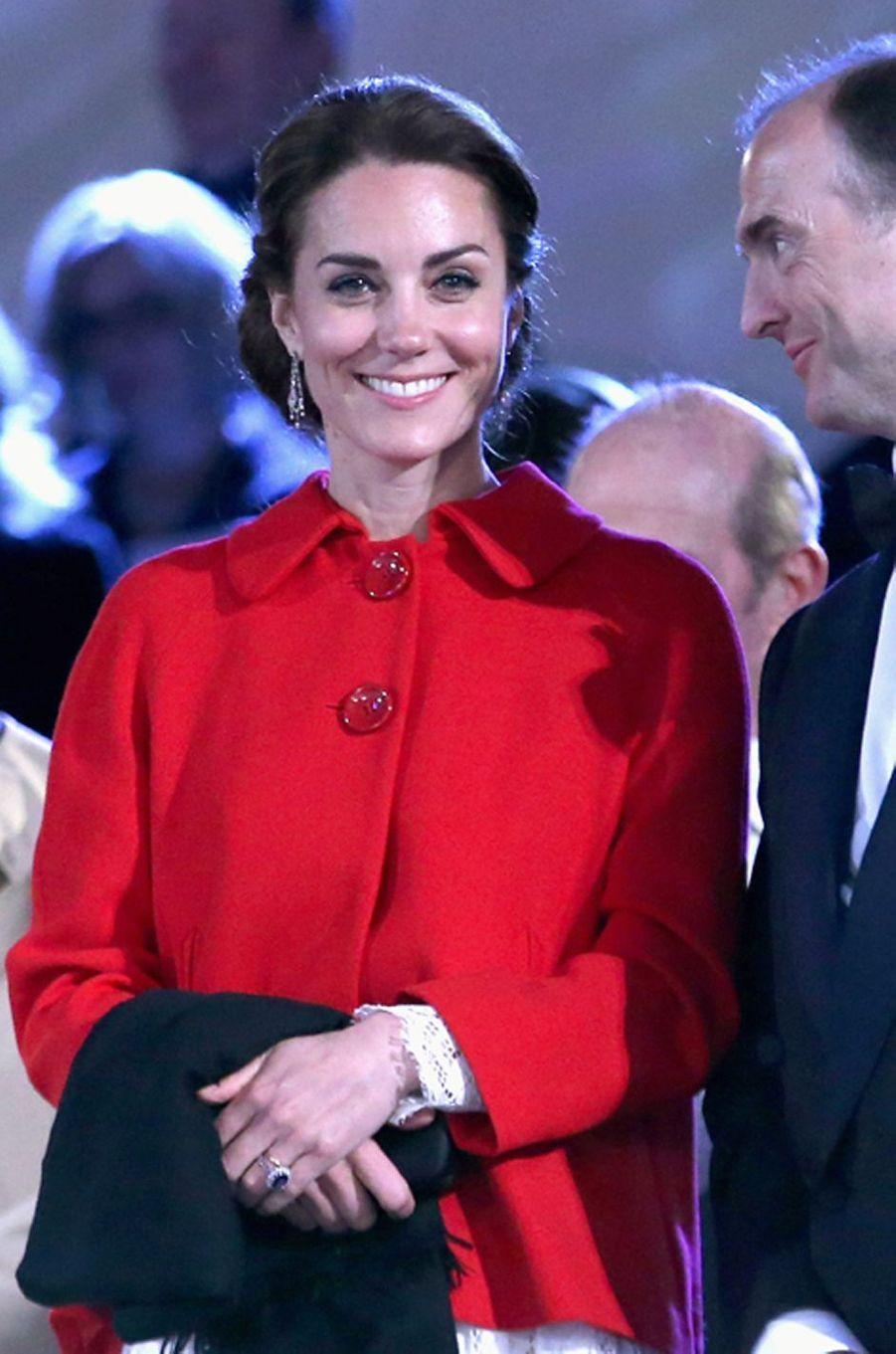 La duchesse Catherine de Cambridge à Windsor, le 15 mai 2016