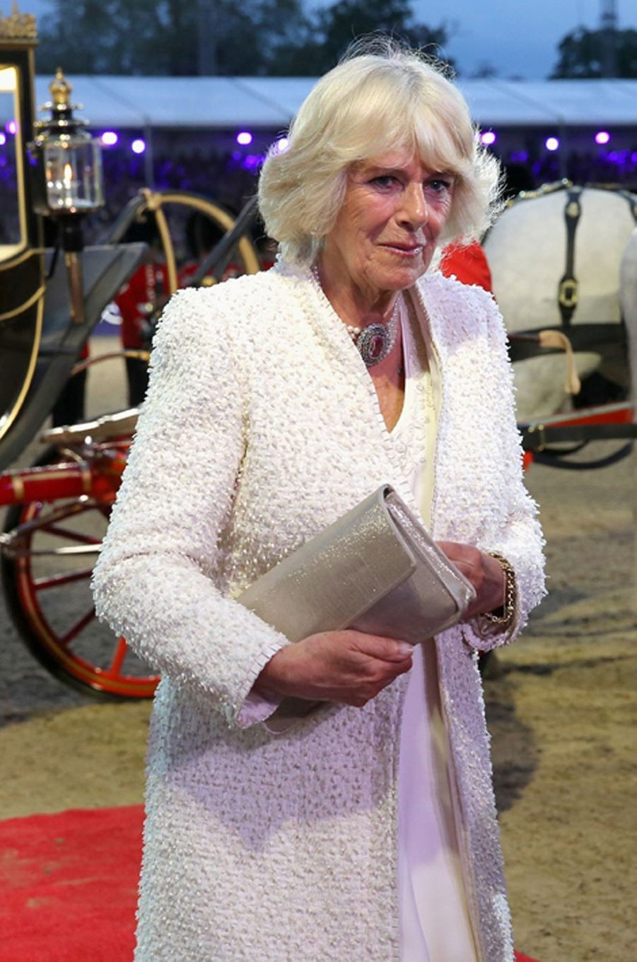 La duchesse de Cornouailles Camilla à Windsor, le 15 mai 2016