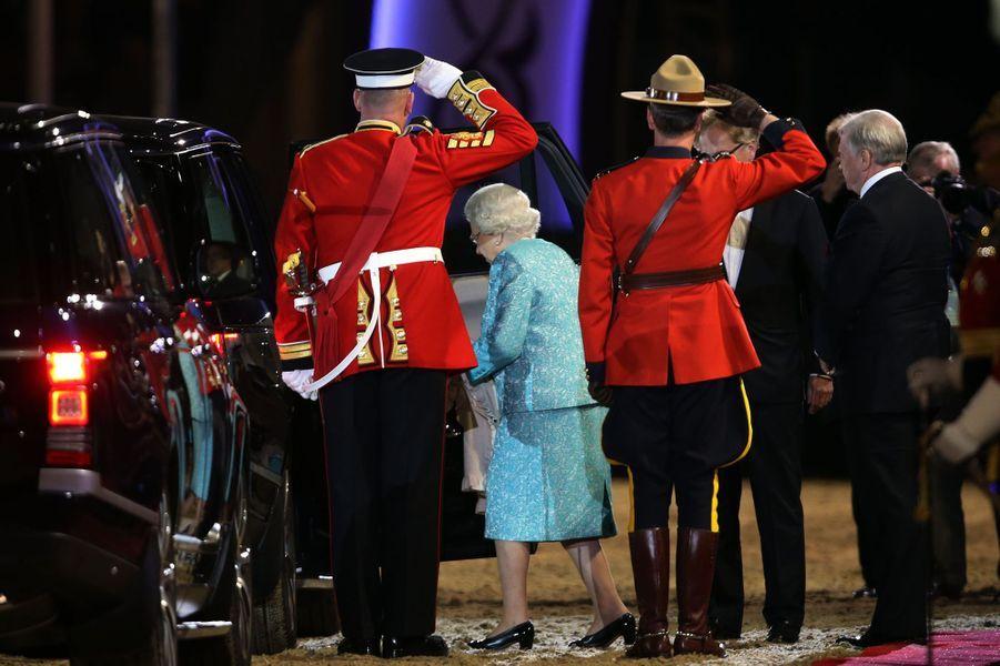 La reine Elizabeth II à Windsor, le 15 mai 2016