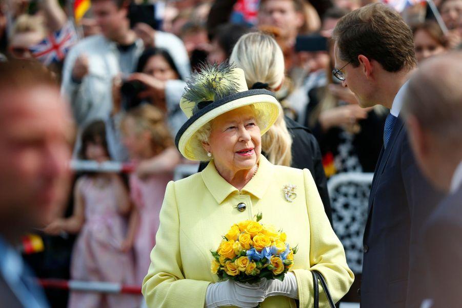 La reine Elizabeth II à Berlin, le 26 juin 2015