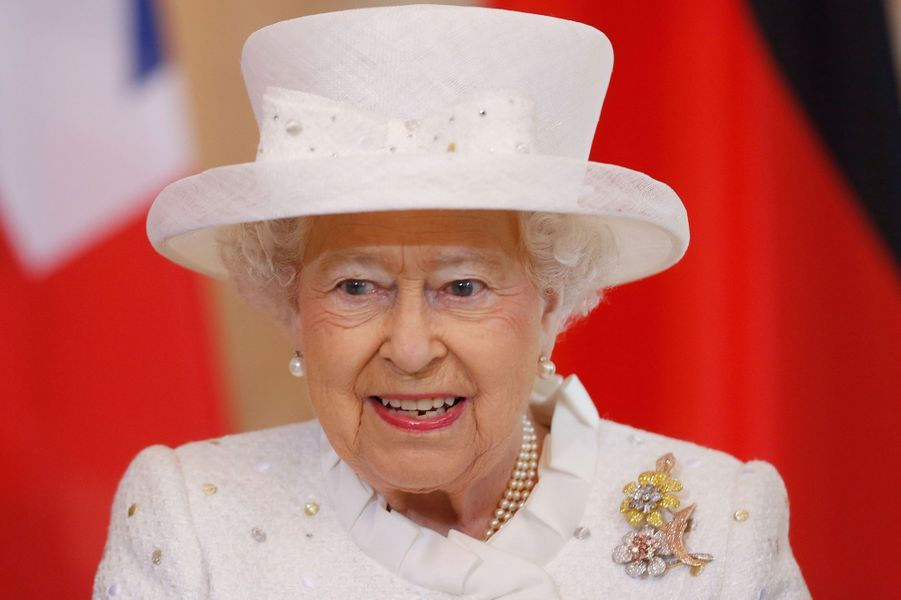 La reine Elizabeth II à Berlin, le 24 juin 2015