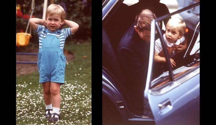 Le jour de ses deux ans, et le jour de la naissance d'Harry.