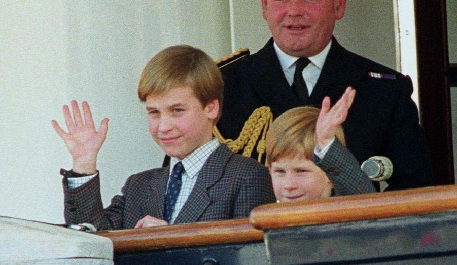 1991 - Avec Harry sur le Britannia