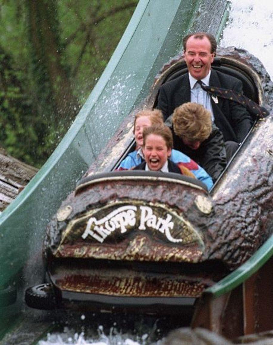 1993 - Visite au Thorpe Park