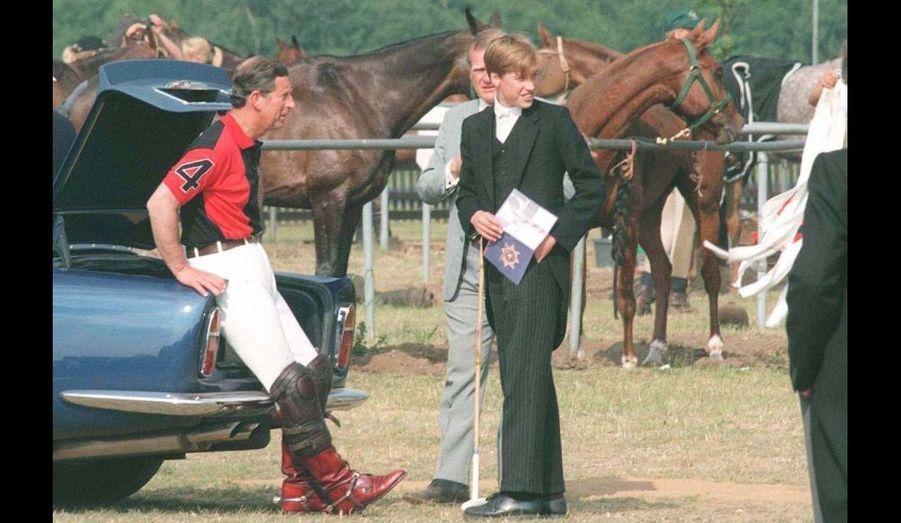 1996 - Au Polo Club, lors du Royal Ascot