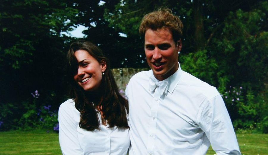 2005 - Remise des diplômes à St Andrews, avec Kate
