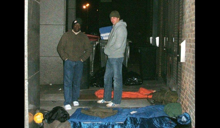 2009 - Un noël avec les sans-abri, William sur les pas de sa mère