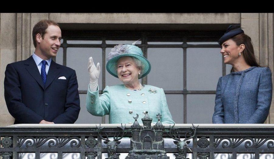 2012 - William et Kate, les stars - et espoirs... - de la famille royale