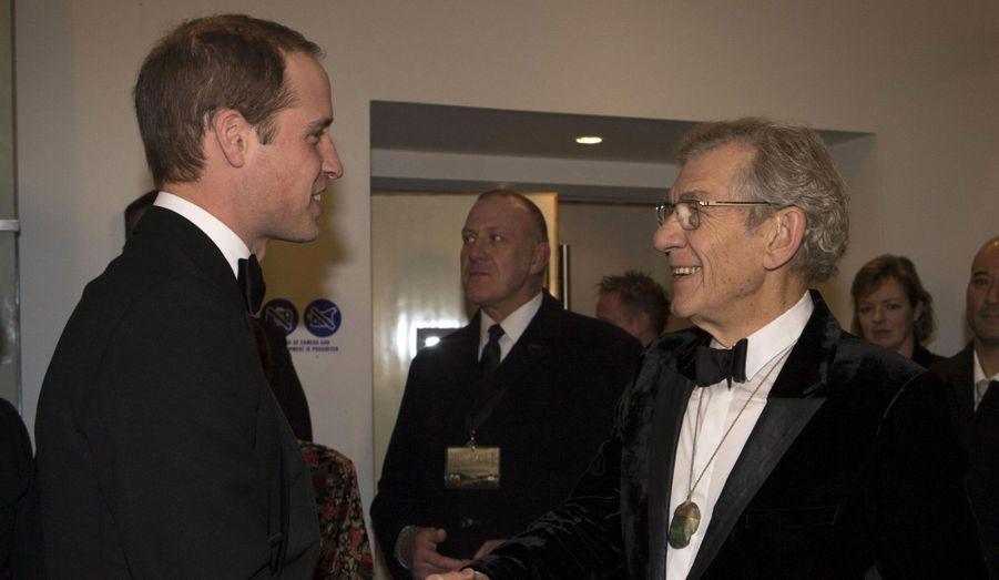 Complice avec Sir Ian McKellen