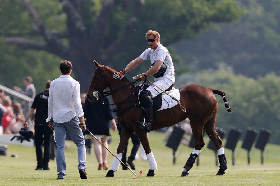 Le prince Harry à Ascot, le 28 mai 2016