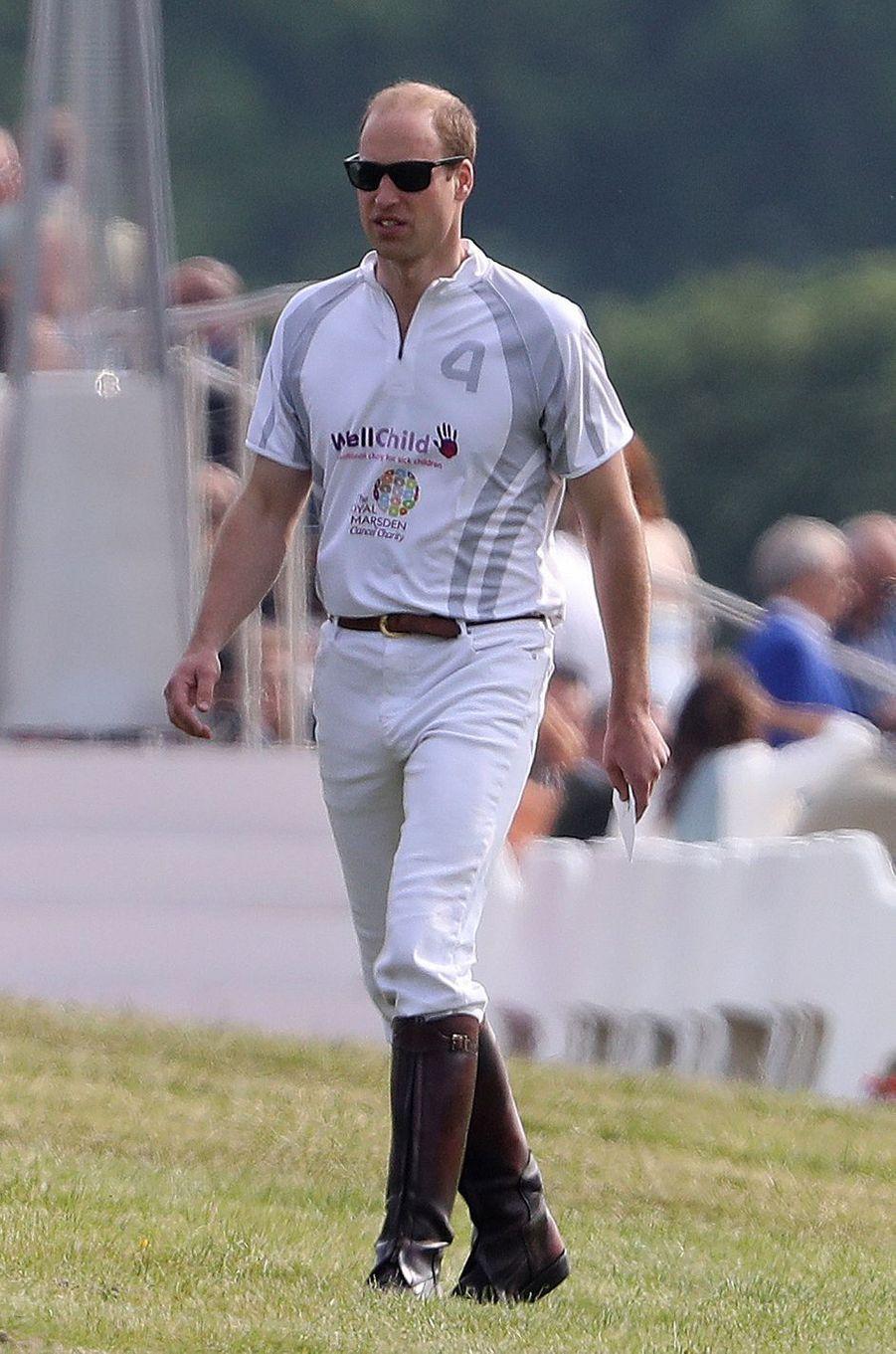 Le prince William à Ascot, le 29 mai 2016