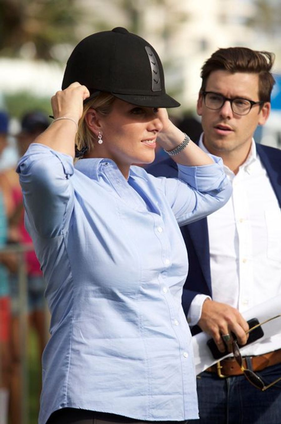 Zara Phillips au Magic Millions à Gold Coast en Australie le 6 janvier 2015