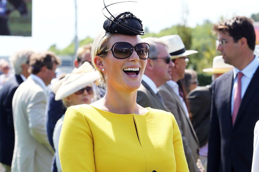 Zara Phillips rayonne aux Ladies Day