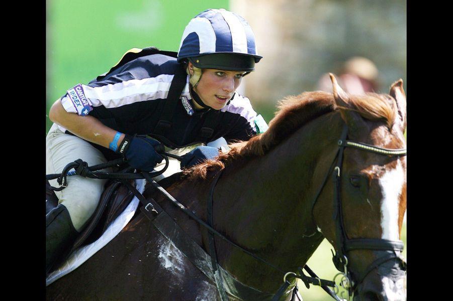 Compétition équestre à Bramham en 2006