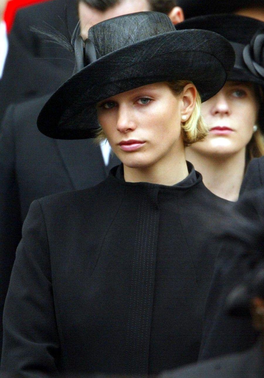 Funérailles de la reine-mère, à Westminster en 2002