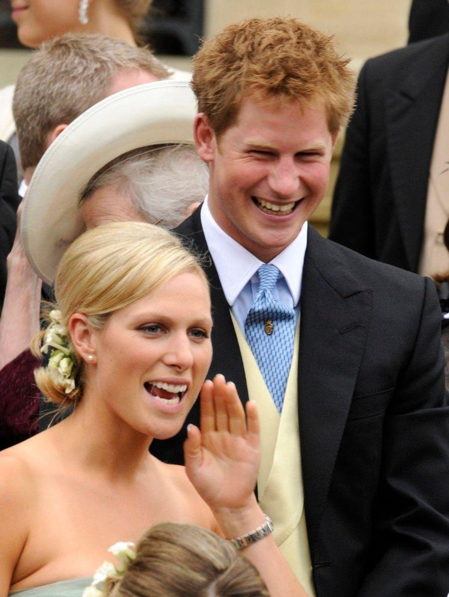 Mariage de son frère Peter avec Autumn Kelly, à Windsor en 2008