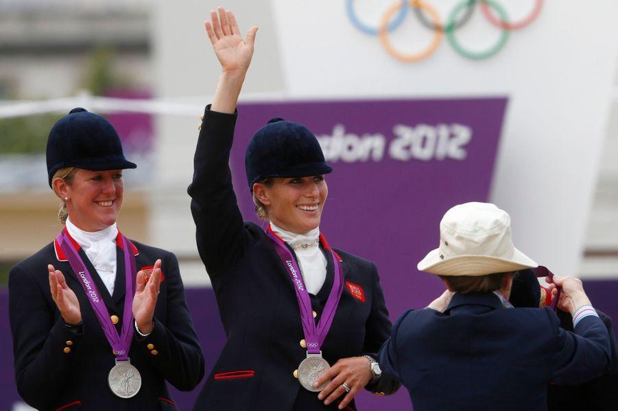 Médaille d'argent aux JO de Londres en 2012