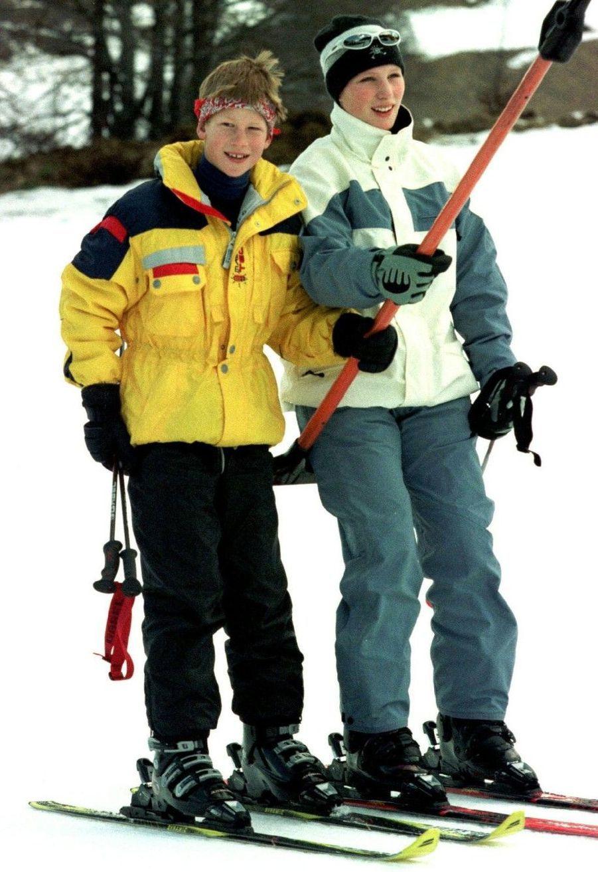 Ski en Suisse avec Harry, en 1998