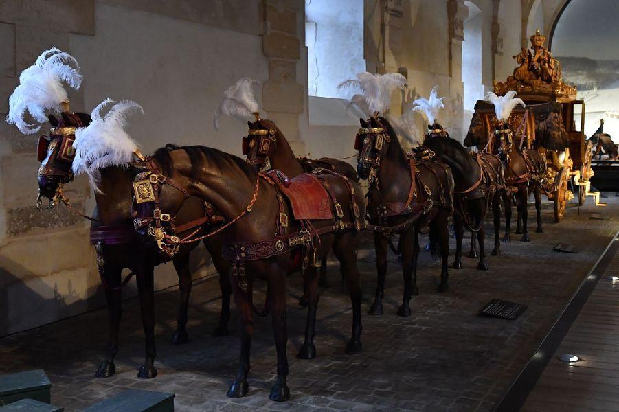 Carrosse du sacre de Charles X conservé à Versailles