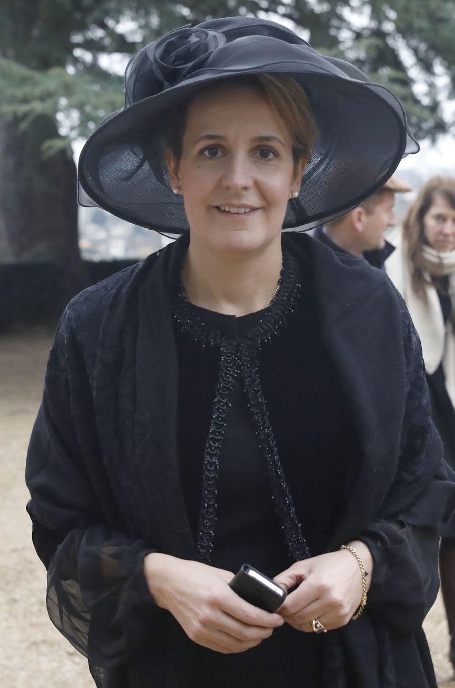 La princesse Philomena d'Orléans, épouse du prince Jean, à Dreux le 6 janvier 2018
