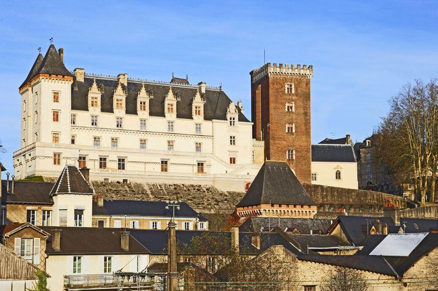 Idée 2 : le château de Pau (photo prise en avril 2012)