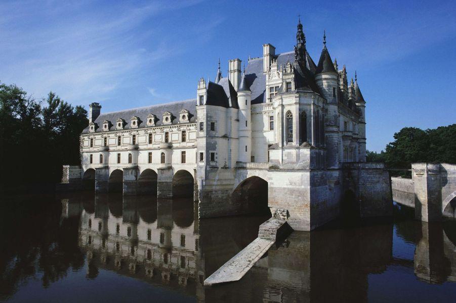 Idée 3 : le château de Chenonceau (photo prise en mars 2013)