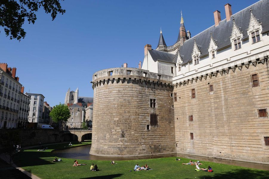 Idée 4 : le château de Nantes (photo prise en cotobre 2011)