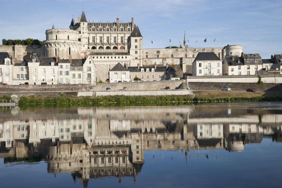Idée 5 : le château d'Amboise (photo prise en janvier 2013)