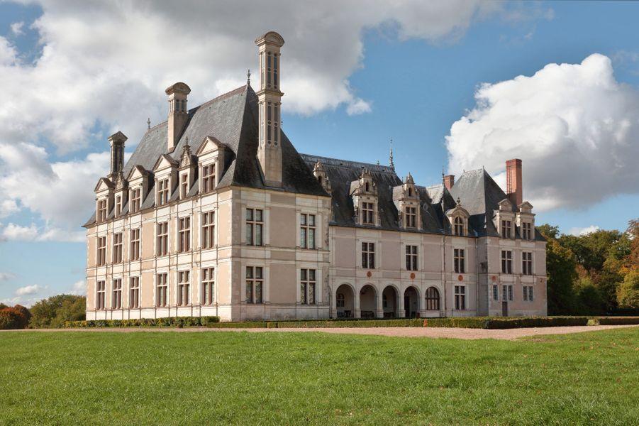 Le château de Beauregard, dans le Loir-et-Cher, le 11 novembre 2019
