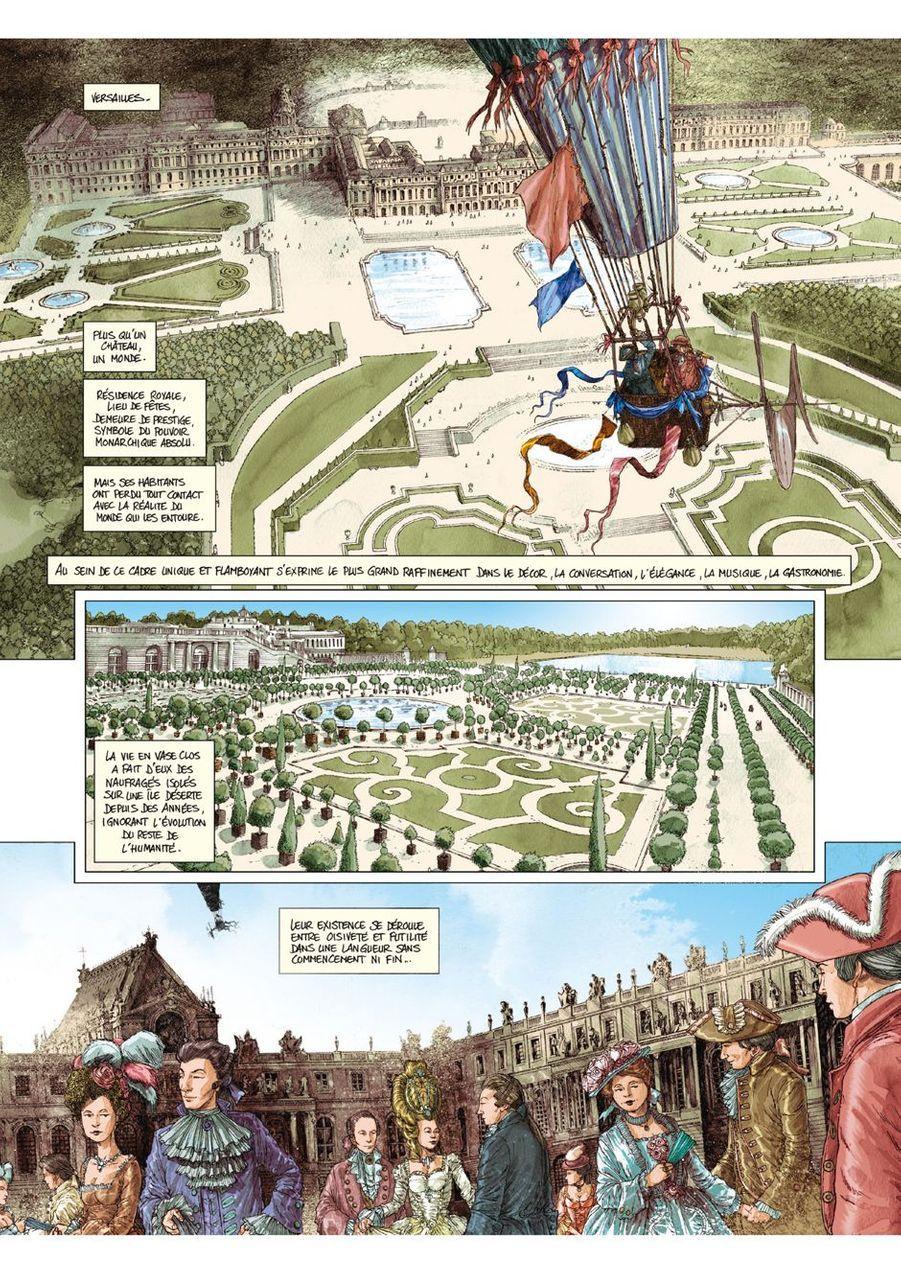 Versailles, tome 1, Éric Adam, Didier Convard et Éric Liberge