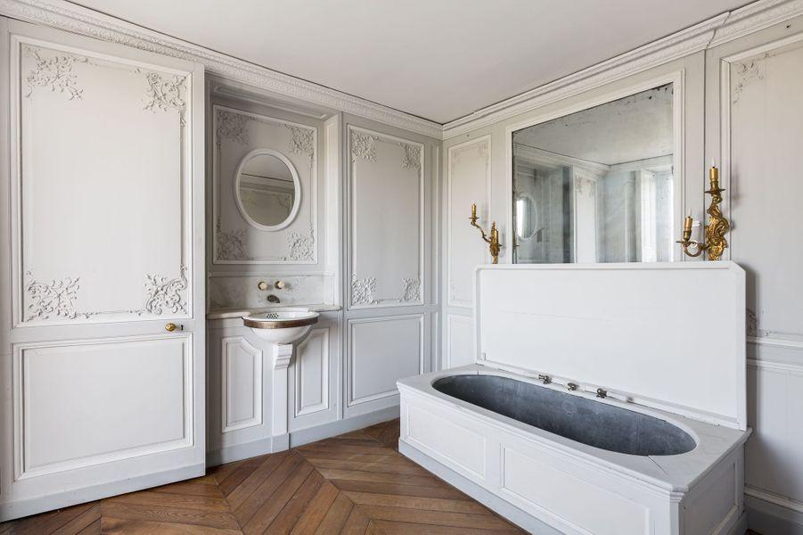"""""""Petits Appartements"""" du château de Chantilly restaurés"""
