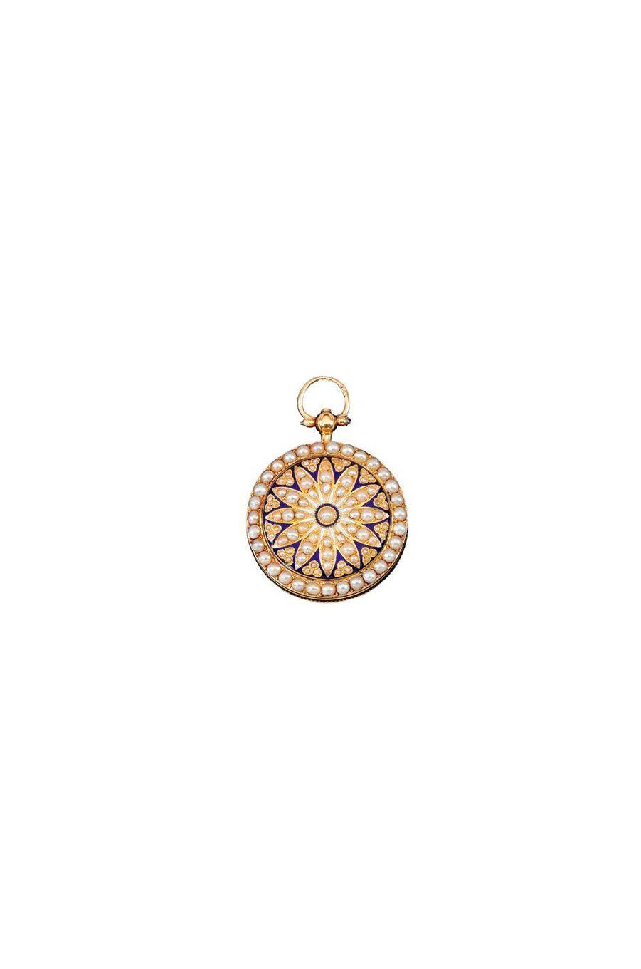 Bijoux de Marie-Antoinette : montre de poche