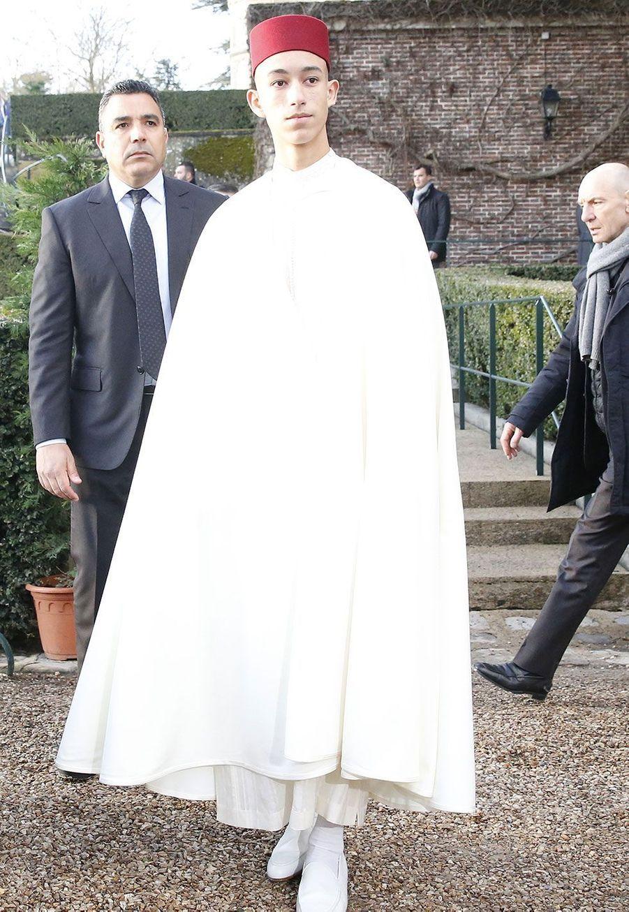 Le prince Moulay El Hassan du Maroc
