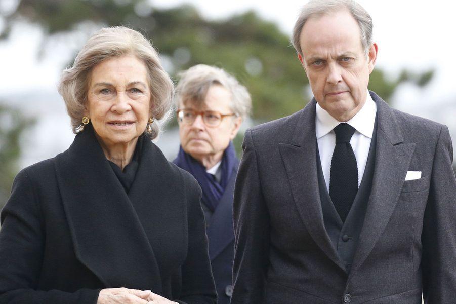 La Princesse Sofia d'Espagne et le Prince Jean de France