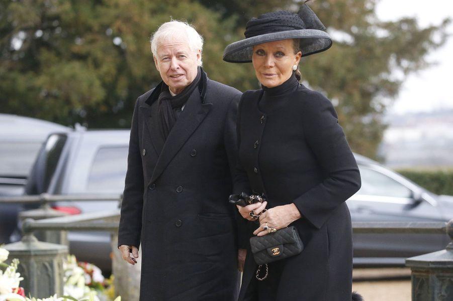 La Princesse Isabelle et le Prince Philippe de Lichtenstein