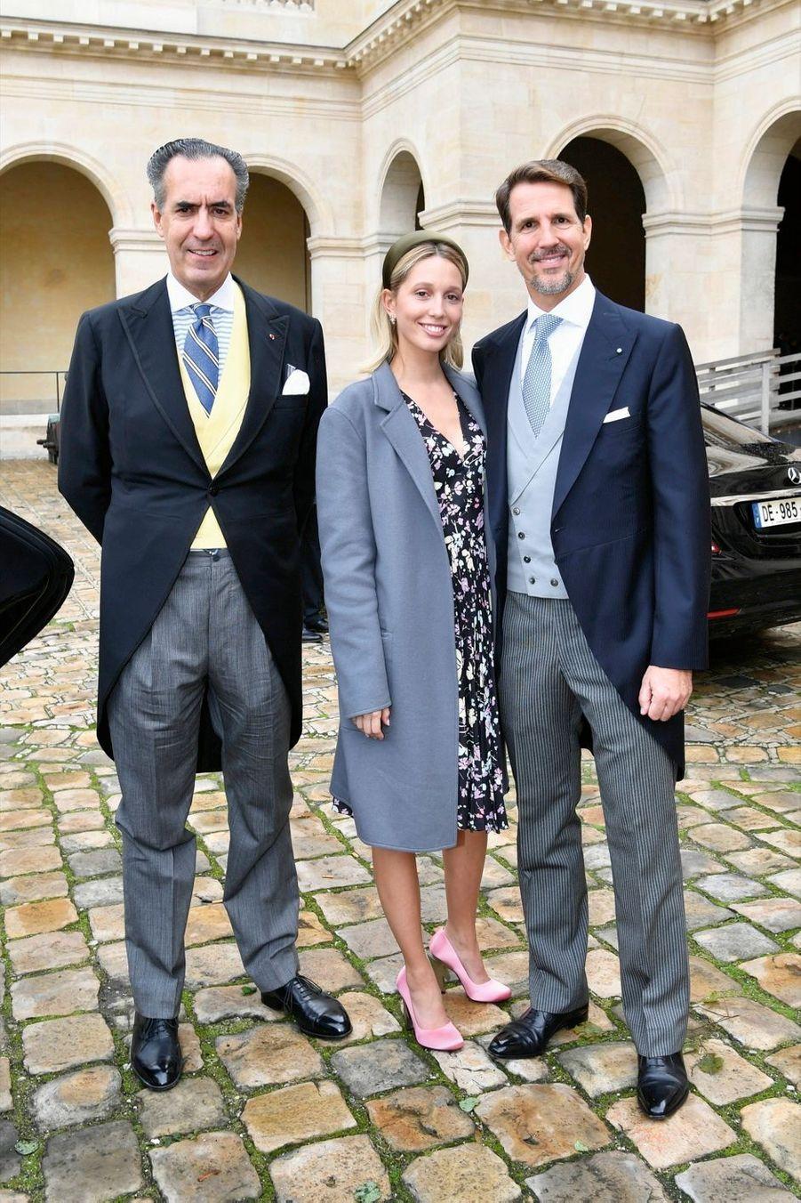 Jaime de Marichalar, Paul de Grèce et sa fille… une autre Olympia.