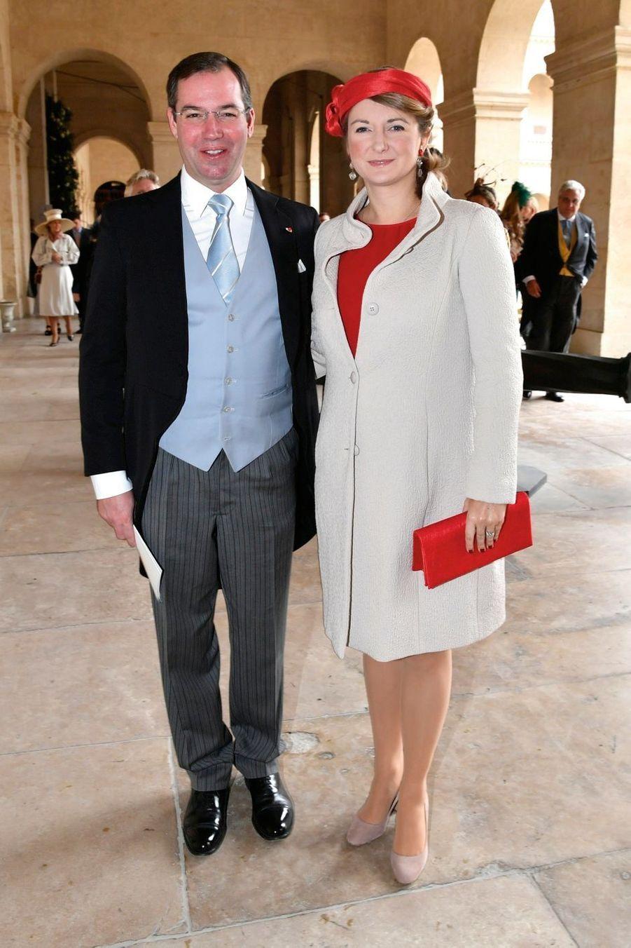Guillaume et Stéphanie de Luxembourg