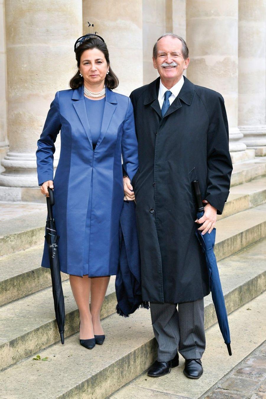 Isabelle et Duarte de Bragrance, descendant des rois du Portugal.