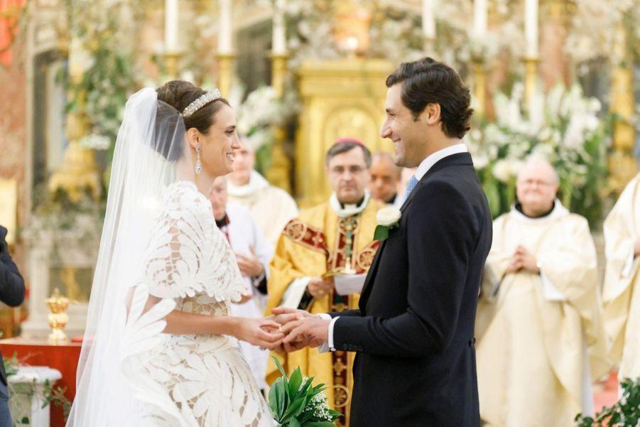 Un mariage aristocratique… en toute décontraction.