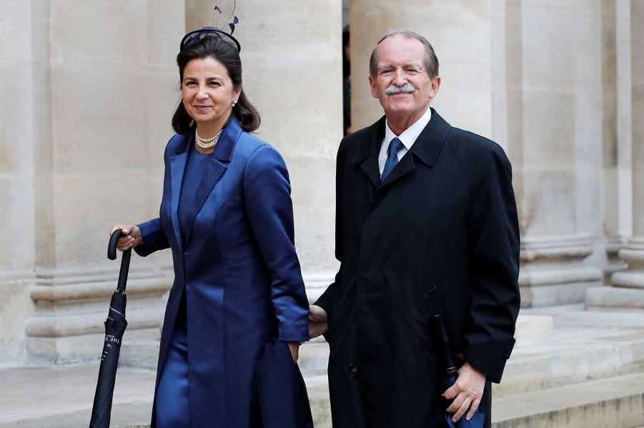 Duarte de Bragança, prétendant au trône du Portugal, et sa femmeIsabel de Herédia