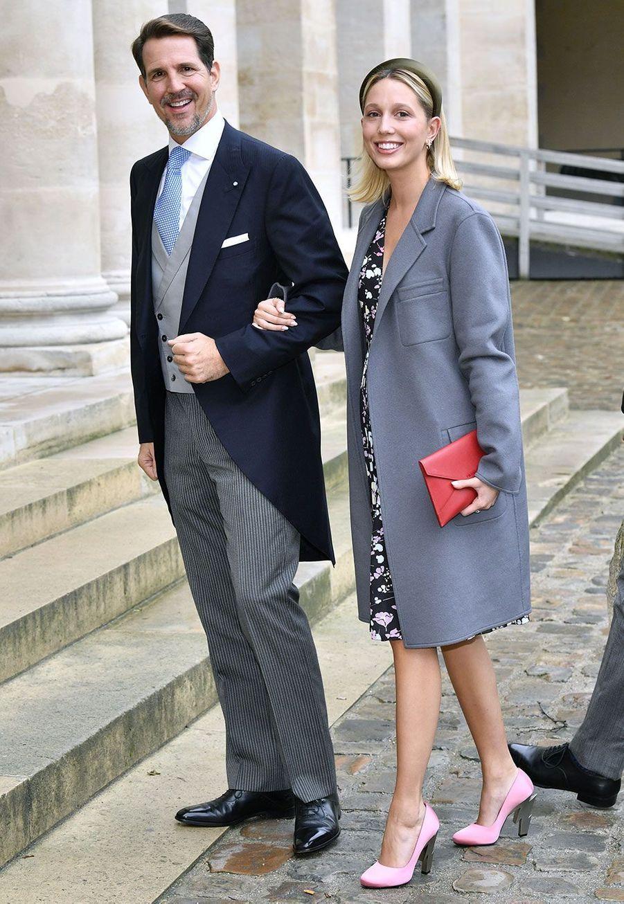 Le princePaul de Grèce et sa fille, la princesseOlympia